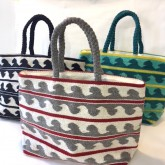 AVALON WAVE TOTE BAG