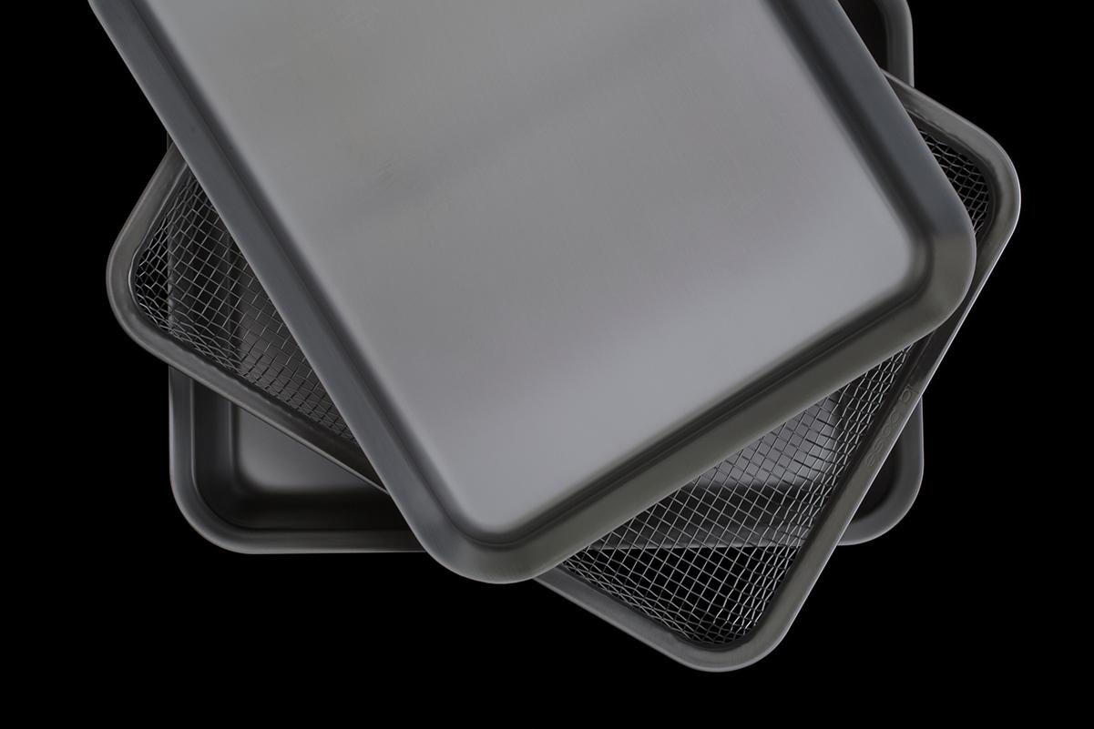 la base rectangular tray set