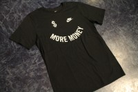 NIKE Tshirt (money) / black