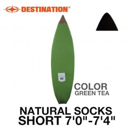 NATURAL SOCK SHORT [7'0-7''4