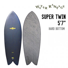 "SUPER TWIN 5'7"" HARD BOTTOM"