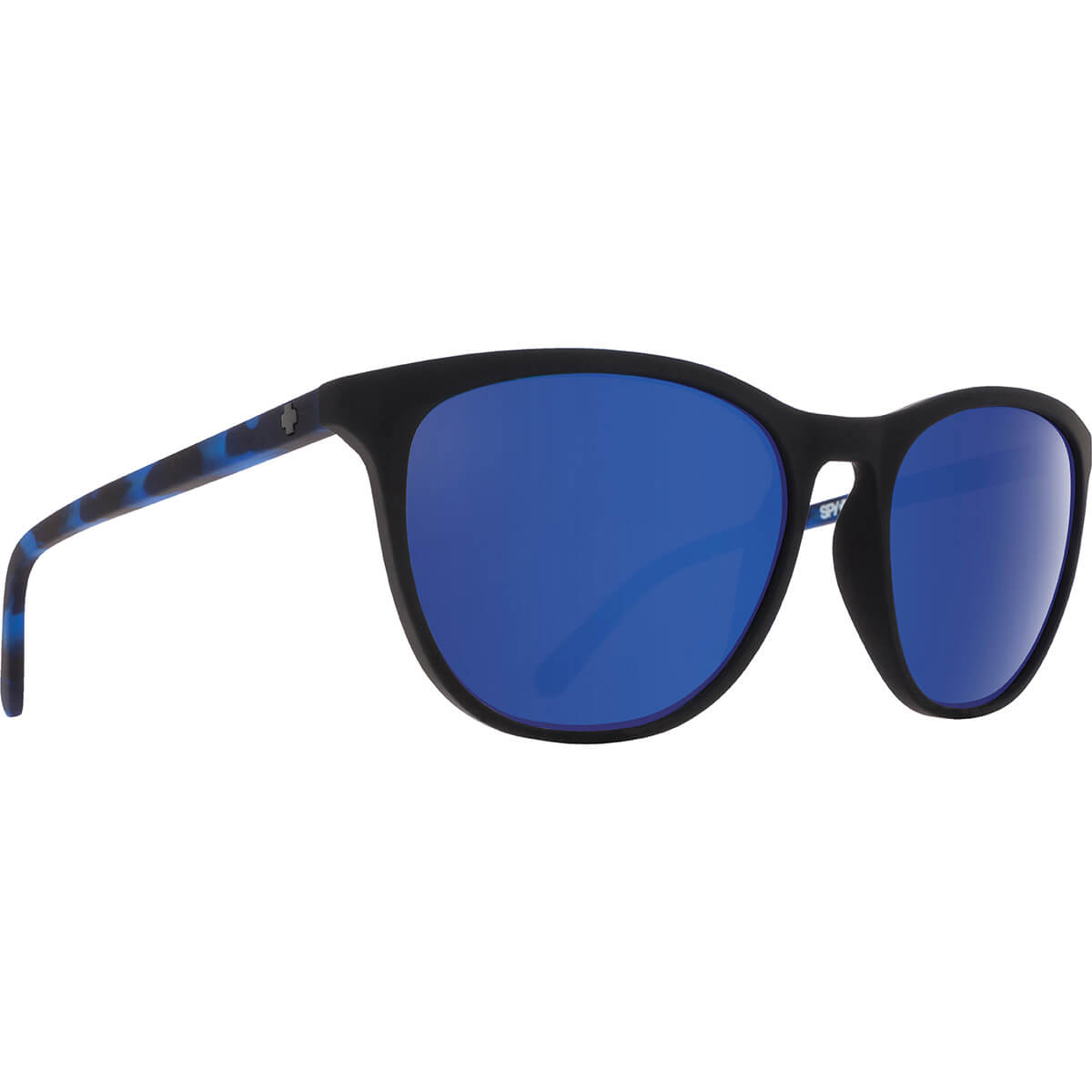 <30%OFF!!> SPY SUNGLASSES スパイ サングラス CAMEO カメオ SOFT MATTE BLACK/NAVY TORT - HAPPY GRAY GREEN w/ DARK BLUE SPECTRA 673373845503