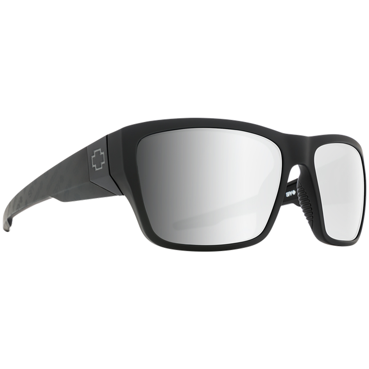 SPY SUNGLASSES スパイ サングラス DIRTY MO 2 ダーティー モー MATTE BLACK LOGO FADE-HD PLUS GRAY GREEN WITH SILVER SPECTRA MIRROR 6700000000019